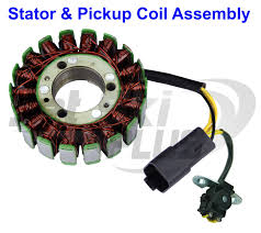 new new seadoo stator magneto w pickup trigger coil 787 951 gtx