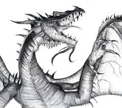 10 cool dragon drawings inspiration hative