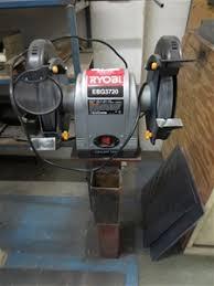Ryobi Bench Grinder Price Ryobi Ebg 3720 Bench Grinder 200mm Discs 240 Volt Auction 0078