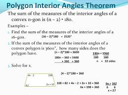 Regular Pentagon Interior Angles Sum Of Interior And Exterior Angles In Polygons
