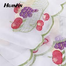 Kitchen Embroidery Designs Kitchen Curtains Fruit Design Latest Gallery Photo