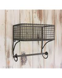 Bathroom Shelves With Towel Rack Slash Prices On Basket Towel Rod Bathroom Organizer Bathroom