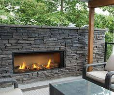 Outdoor Propane Gas Fireplace - escea ef5000 outdoor propane fireplace black with new zealand