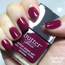 butter london rather red patent shine 10x week long wear free