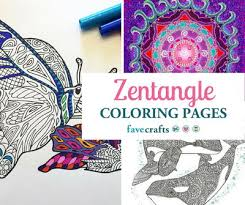 zen patterns coloring pages zentangle patterns coloring pages