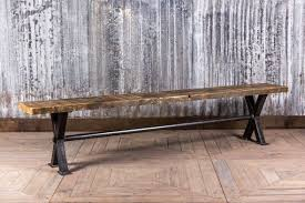 Church Pew Style Bench Solid Oak And Pine Settle Pew Bench Made To Your Exact Size Painted Or