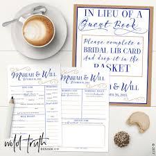 Halloween Mad Libs Printable Free by Wedding Mad Lib Guest Book Alternative Custom U2013 Wild Truth Design Co