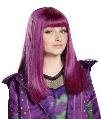 mal costume mal costume wig child isle look disney descendants 2 23790 911