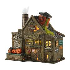 department 56 halloween village department 56 u2013 harley davidson ghost riders u0027 club wooden duck