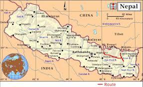 Map Of Nepal India by Nepal2 Jpg