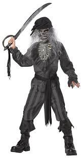 amazon com ghost ship pirate boy u0027s costume clothing