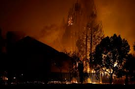 California Wildfires Ventura County by Explosive Wildfires Burn Deep Into California Wine Country