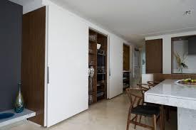 black metal framed glass doors for separating the kitchen u2013 decor