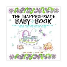 baby book the inappropriate baby book walmart