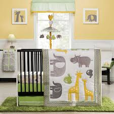 Giraffe Baby Decorations Nursery by Amazon Com Zoo Animals 4 Piece Baby Crib Bedding Set By Carters