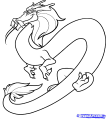 chinese dragon drawing cliparts co