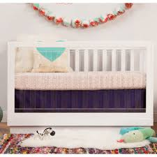 Hudson 3 In 1 Convertible Crib With Toddler Rail by Babyletto Crib Sale Babyletto Crib Bedding Harlow 3in1