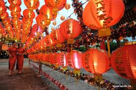 Festival Of Lights Thailand Festive Lantern Fair Lights Up Bangkok Xinhua English News Cn