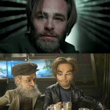 Meme Chris - put me like 盞 chris pine in wrinkle in time looks like gary from
