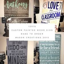 Personalized Wood Signs Home Decor Custom Signs Personalized Wood Signs Custommade Com
