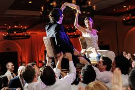 Jewish Wedding Chair Dance Traditional Ojai Wedding With A Splash Of Spanish Flair