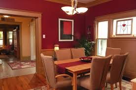 interior paint colors red
