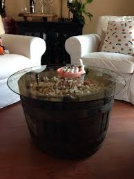 Wine Coffee Table Wine Barrel Coffee Table Glass Top Images On Luxurius Home Decor