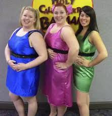 Powerpuff Girls Halloween Costumes Powerpuff Girls Homemade Costume Makeup Ideas Powerpuff