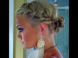 Hochsteckfrisurenen Pomp by Goddess Crown Braid Tutorial Twisted Prom Updo Hairstyle