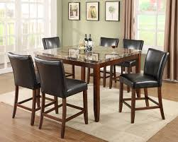 Dining Sets Counter Height - 7 piece dining room set counter height