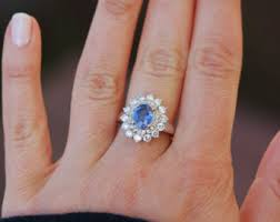 oval sapphire engagement rings oval sapphire ring etsy