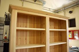 Ark Bookshelf by Solid Pine Country Style Bookshelf Finewoodworking