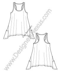 downloads this free illustrator knit fashion flat sketch template