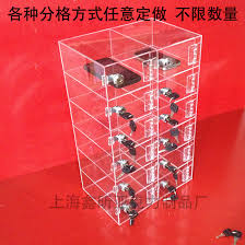 charging box acrylic transparent mobile phone display box phone charging box