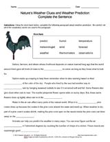 weather lessons printables u0026 resources grades k 12 teachervision