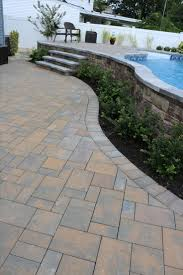 pool patio pavers 81 best paver pathway images on pinterest gardens landscaping