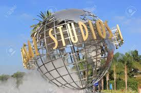 Map Universal Studios Hollywood Los Angeles California Usa October 10 2014 Universal Studios