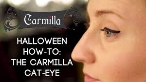 carmilla halloween how to u0027s the carmilla cat eye youtube