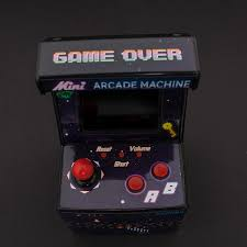 amazon com boys mini arcade machine 240 game toys u0026 games