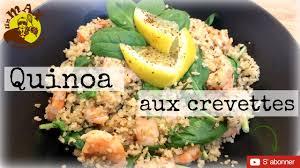 comment cuisiner le quinoa recettes recette facile rapide quinoa aux crevettes citron ail