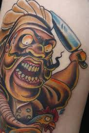 31 traditional chef tattoos