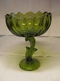 blossoms candy 107 best green glass images on indiana candy dishes