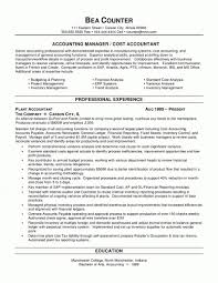 Inventory Management Resume Sample by 100 Professional Accounting Resume Samples Example Of A Summary