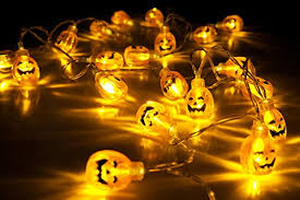 pumpkin lights velice battery operated led fairy string lights 3d pumpkin 20 led ligh