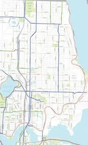 Map Of Greenlake Seattle by Bike Master Plan Draft 2 Ne Seattle Wallingford Green Lake And