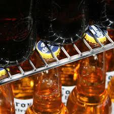 sliding 2 glass door commercial back bar bar fridge energy saving