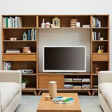 Bookcases John Lewis Buy House By John Lewis Stride Media Display Wide Narrow