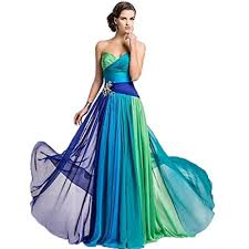 missydress s colorful sweetheart floor length chiffon formal