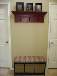 Entryway Storage Bench With Coat Rack Decor Entryway Storage Bench With Wall Mounted Coat Rack For