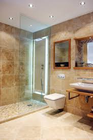 bathroom cool small bathroom deisgn tile ideas with brown subway